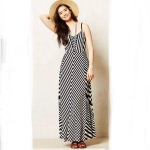 "Anthropology Lilka ""Meter stripe"" maxi dress"
